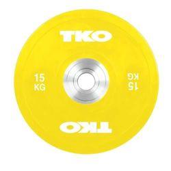 Talerz Bumper Plate Żółty 15kg