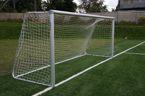 Bramka stacjonarna aluminiowa do piłki nożnej; 5x2m