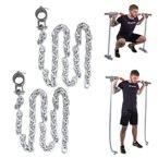 Łańcuchy treningowe na gryf 2x15 kg inSPORTline Chainbos