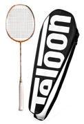 Rakietka do Badmintona TELOON Blast TL500 Orange 89g 22Lbs
