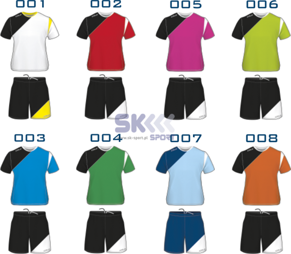 Komplet piłkarski Colo Club II Junior