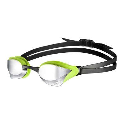 Okularki do pływania Arena Cobra Core Mirror Silver/Green